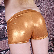 Gold Spandex Outfit